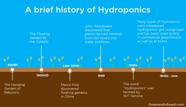 Hydroponic history