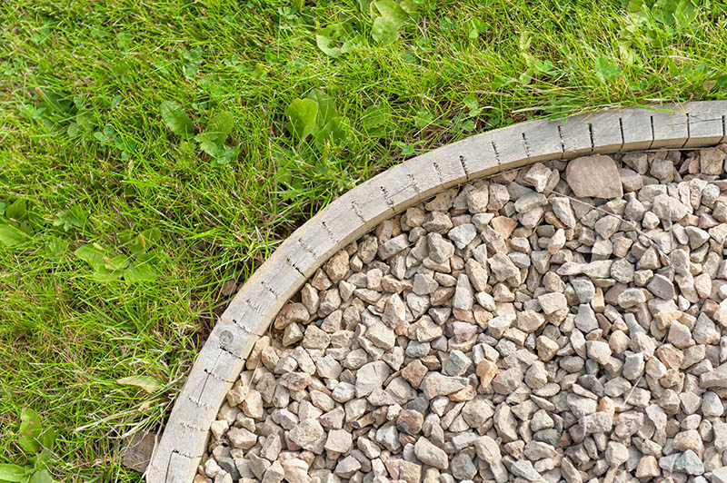 23 Amazing Garden Edging Ideas, How To Build A Stone Garden Edge