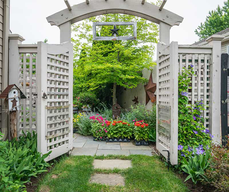 Lattice Fence Ideas