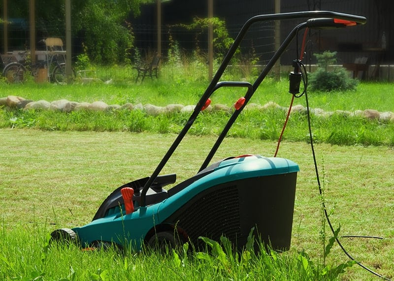 Electric Powered Mower