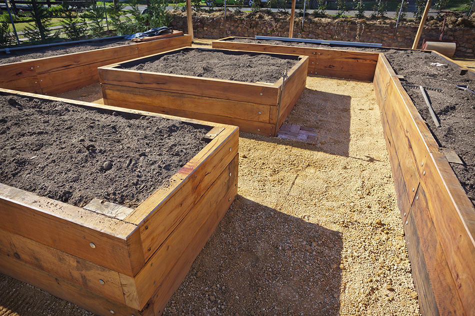 Installing a raised bed