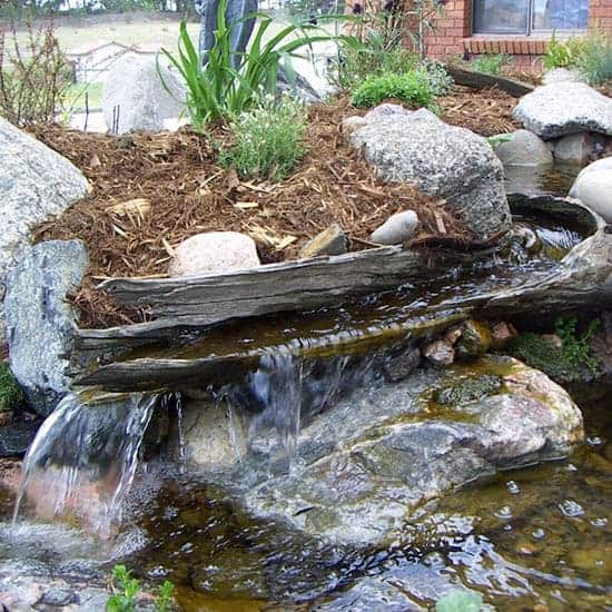 25 Amazing Backyard Garden Waterfall Ideas | Green and Vibrant
