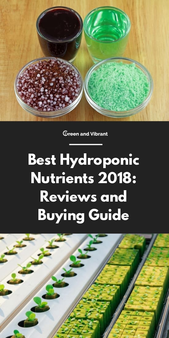 Best Hydroponic Nutrients: Reviews and Buying Guide