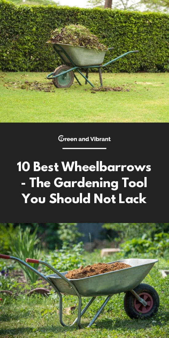 10 Best Wheelbarrows - The Gardening Tool You Should Not Lack