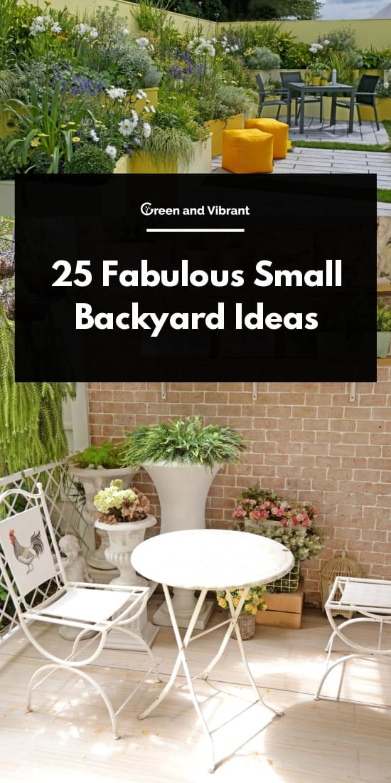 Fabulous Small Backyard Ideas