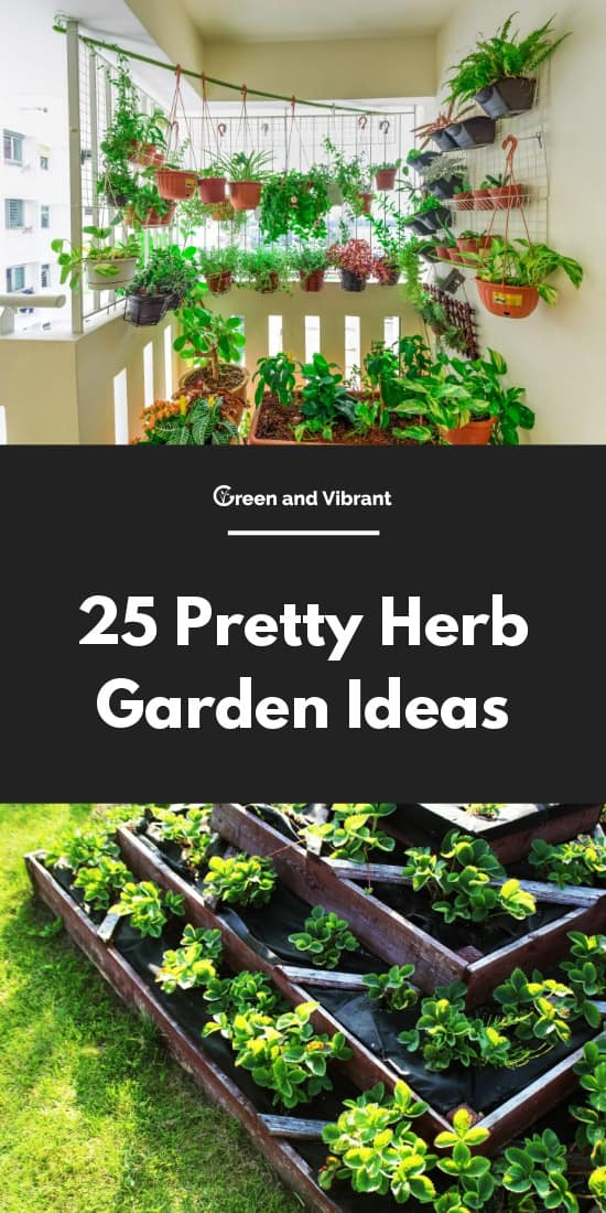 Pretty Herb Garden Ideas