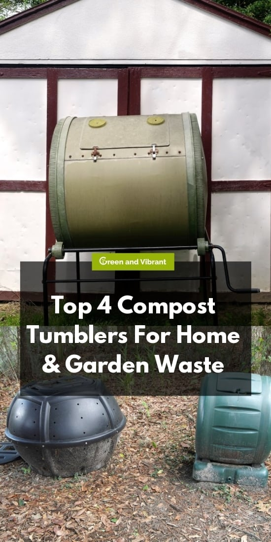 Top 4 Compost Tumblers For Home & Garden Waste